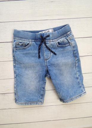 Стильные джинсовые шорты от denim co, для мальчика 6-7 лет.