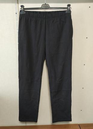 Спортивные штаны плотный трикотаж размер м 40-42