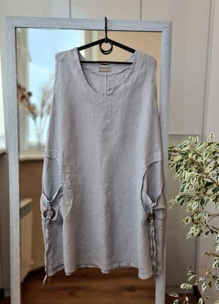 Льняное платье италия 🌺