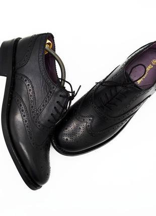 Туфли броги samuel windsor оригинал ( размер 44 )