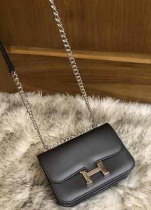 Стильная сумочка, люкс серия,на цепочке.