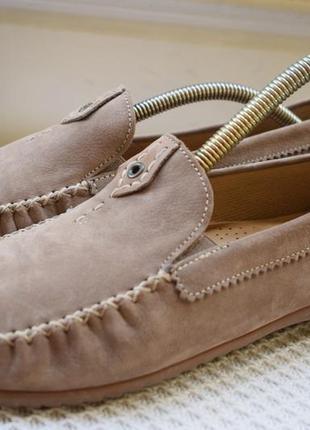Кожаные туфли лоферы слипоны мокасины gabor набор comfort р.40 р.6 1/2 26.4 см