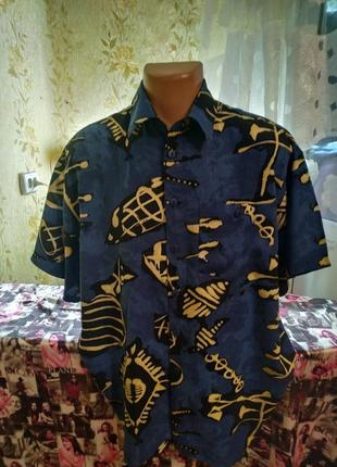 Рубашка шведка гавайка