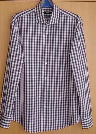 Рубашка hugo boss/germany/оригинал.