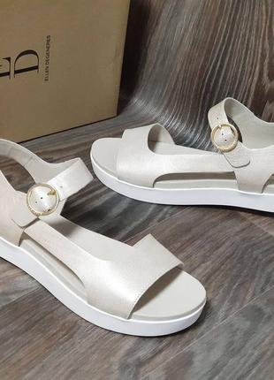 Ed ellen degeneres - кожаные женские босоножки сандалии - 38, 39, 40