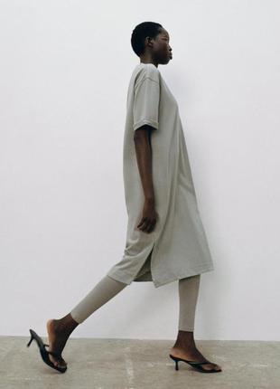 Новое платье-свитшот zara, маст-хев осени