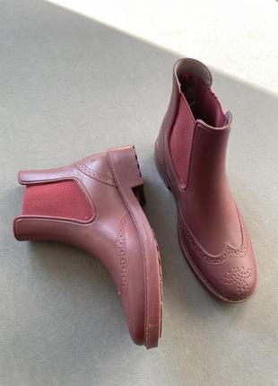 Резиновые сапоги ботинки 36 размер 23 см