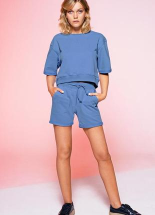 Крот костюм голубой джинс colo
