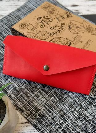 Женский кожаный кошелек ручной работы stedley классик 2