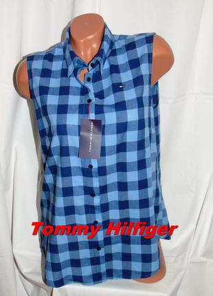 Tommy hilfiger шикарная брендовая рубашка - xl - xxl
