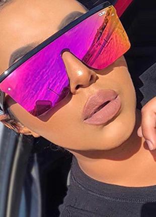 Солнцезащитные очки маска хамелеон
