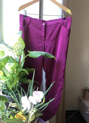 Струящиеся брюки большого размера