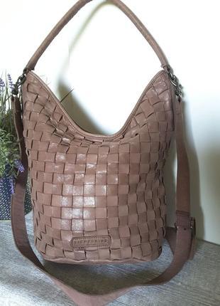 Суперская сумка натуральная кожа от liebeskind оригинал