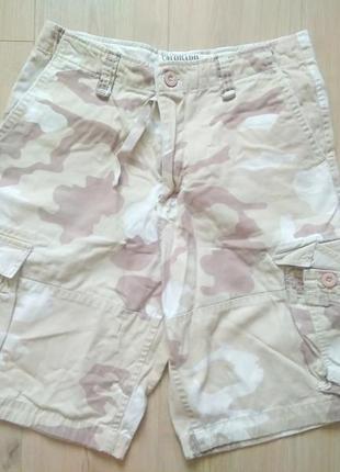 Камуфляжні шорти colorado/мужские шорты карго