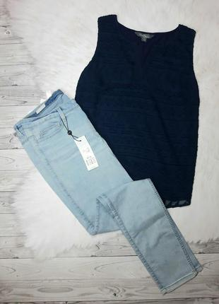 Наборчик джинсы +майка , л-хл