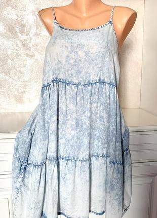 ❤️ брендовое котоновое платье сарафан