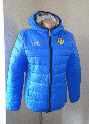 Демисезонная куртка kappa р.s  (ог 92) на холодную осень