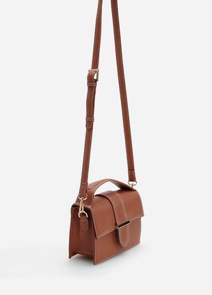 Трендова зручна сумочка reserved з 2 ручками!
