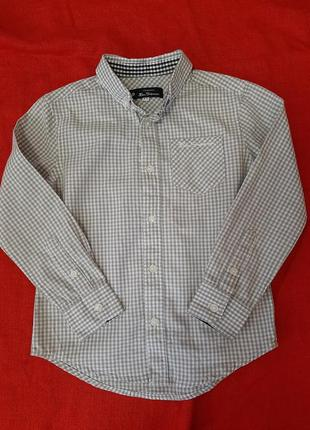 Стильная рубашка сорочка с длинным рукавом ben sherman