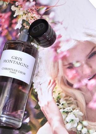 Christian dior gris montaigne оригинал_eau de parfum 3 мл затест распив отливанты