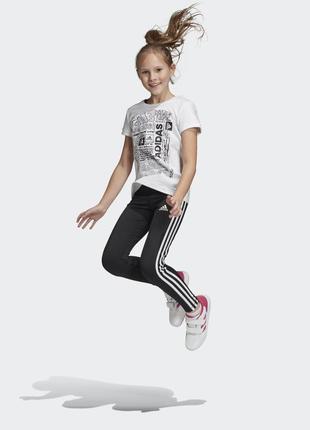 Штаны леггинсы adidas training eguipment ор-л 8-9л 134р
