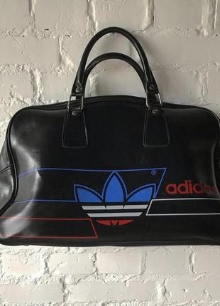 Adidas винтажная сумка 1970