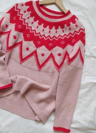 Мягенький оригинальный свитерок от next