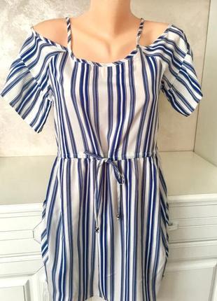 ❤️стильное брендовое платье с открытыми плечами