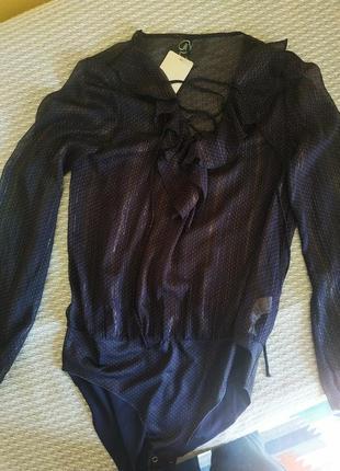 Боди, блуза stradivarius