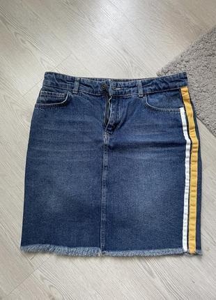 Женская джинсовая юбка