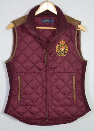 Жилетка polo ralph lauren ladies quilted vest