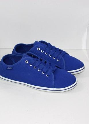 Кеды кросовки женские синие