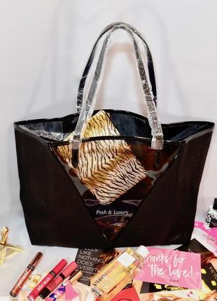 Victoria's secret. сумка и косметичка, шоппер викториас сикрет ( виктория сикрет)