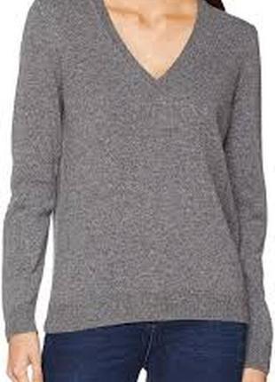 United colors of benetton свитер пуловер шерсть 100% без дефектов серый