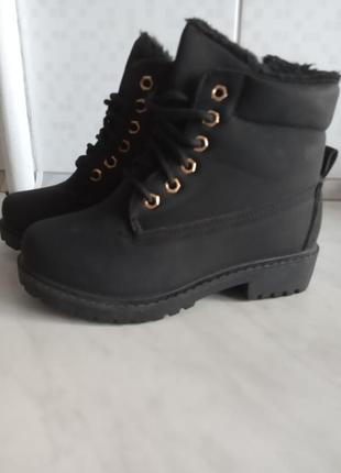 Зимові чобітка ботінки