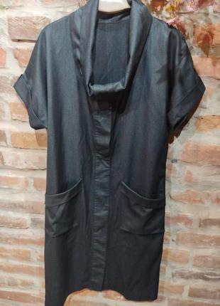 Красивое платье из костюмной шерсти