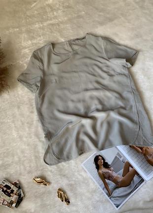 Шелковая футболка silviye