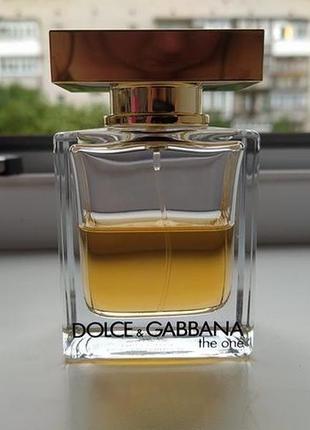 Оригинал)))dolce&gabbana the one edt )))