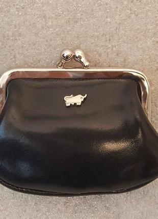 Маленький кожаный женский кошелёк braun buffel