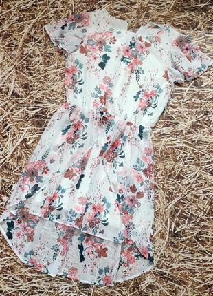 Новое красивое платье h&m. размер 10-12 лет