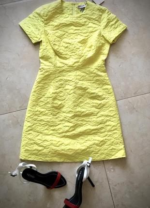 Скульптурное платье премиум бренд