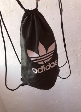Сумка спортивная рюкзак adidas оригинал адидас для обуви на тренировку в зал