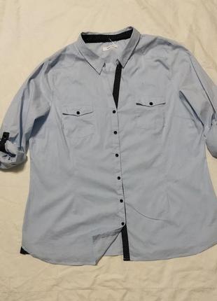 Интересная блуза большого размера