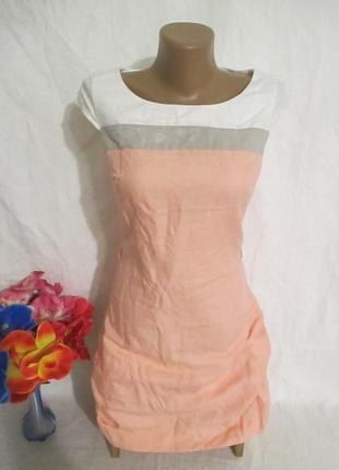 Платье лен-катон  !!!!!!!
