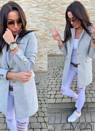 Пальто кашемировое на подкладке