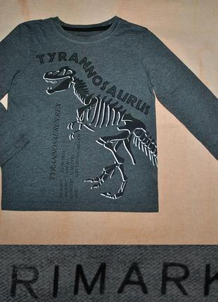 Реглан с динозавром на 110/116р.