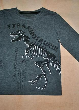 Реглан с динозавром на 110/116р.2 фото
