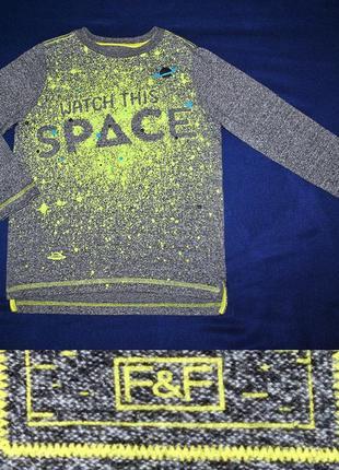 Реглан космос от f&f на 5-6лет