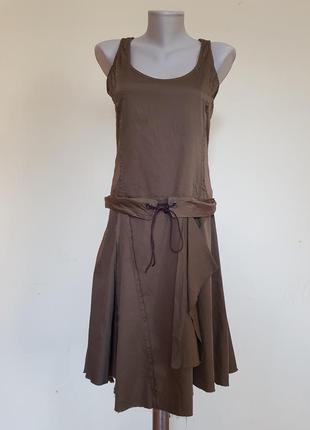 Стильное брендовое платье хлопок ikks