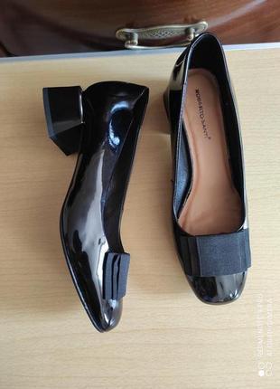 Шикарные туфли roberto santi